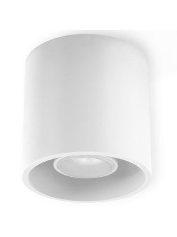 """Nice Lamps Deckenleuchte """"RODA"""" in Weiß Ø 10 cm"""