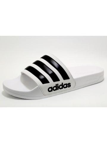 Adidas Pantoletten in weiß