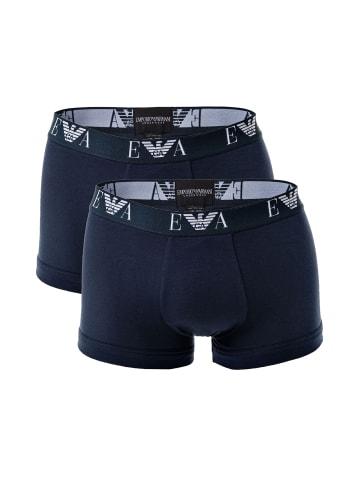 Emporio Armani Boxershort 2er Pack in Marine