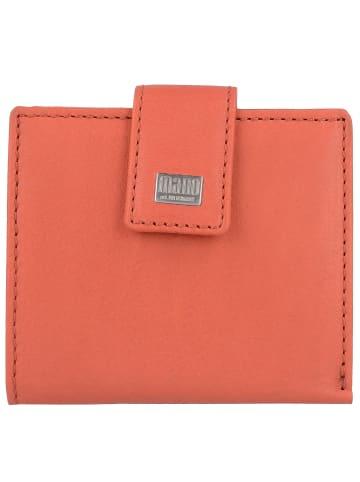 Mano Mano Geldbörse 10 cm Leder in red