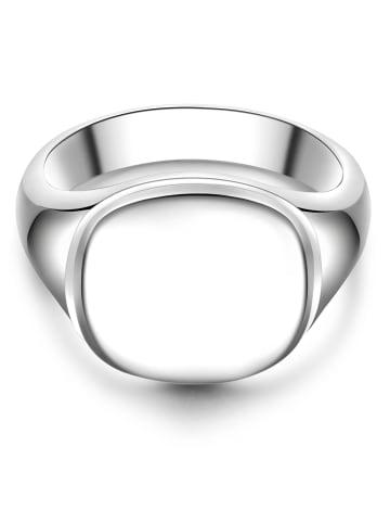 Männerglanz Ring Sterling Silber in Silber in silber