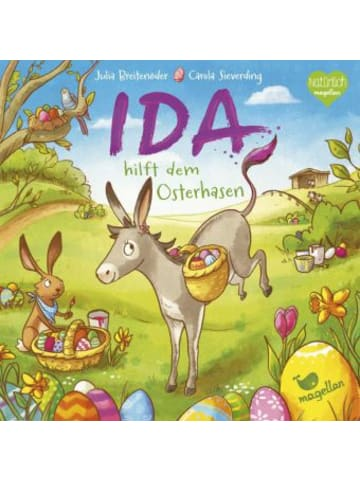 Magellan Ida hilft dem Osterhasen