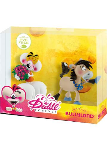Bullyland Geschenk-Set Diddl Forever - Diddlina mit Blumen und Galupy