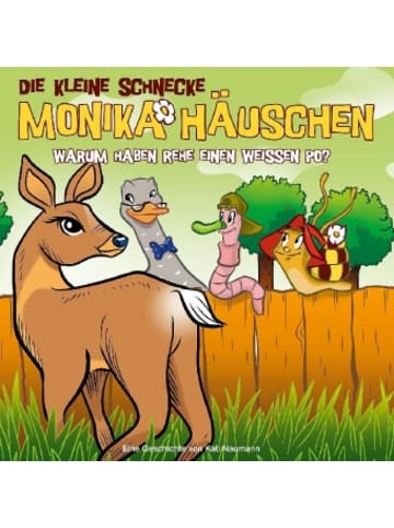 Universal Music Die kleine Schnecke, Monika Häuschen, Audio-CDs, 50 Warum haben Rehe einen weißen Po?, 1 Audio-CD