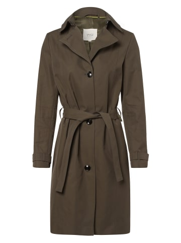 Marie Lund Trenchcoat in oliv