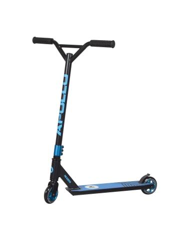 "Apollo Stunt Scooter Freestyle Roller "" Genius Pro 4.0 "" in schwarz/blau"