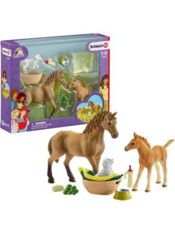 Schleich 42432 Horse Club: Sarahs Tierbaby-Pflege