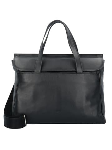 Bree Stockholm 45 Handtasche Leder 38 cm Laptopfach in black