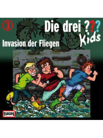 Die drei Fragezeichen Die drei ??? Kids: Invasion der Fliegen, 1 Audio-CD