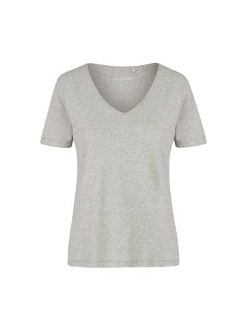 Eve in Paradise T-Shirt Gabi in Grau Melange