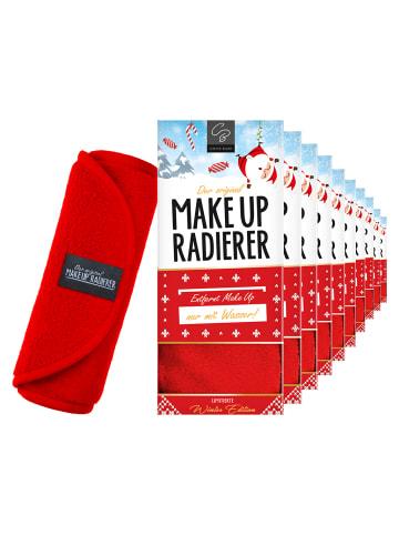 Der original MakeUp Radierer 10er Set: MakeUp Radierer Tuch in Rot
