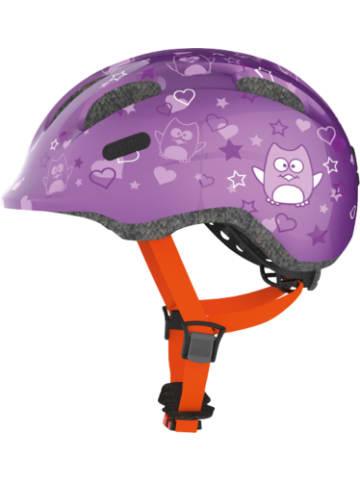 ABUS Fahrradhelm Smiley 2.0, lila star