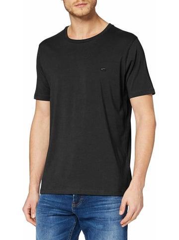 Camel Active Rundhals T-Shirt in schwarz