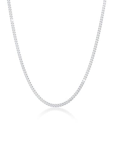 KUZZOI Halskette 925 Sterling Silber Basic Kette in Silber