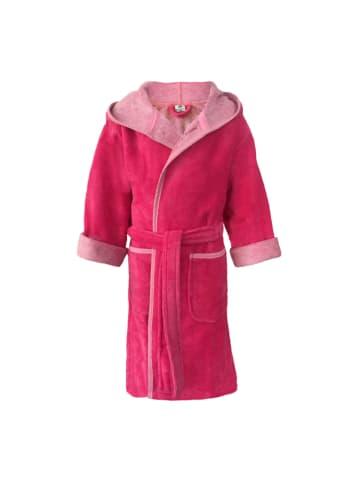 JP Company Kinderkapuzenmantel in Pink