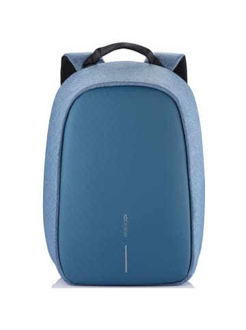 XD Design Bobby Hero Small Rucksack RFID 38 cm Laptopfach in light blue