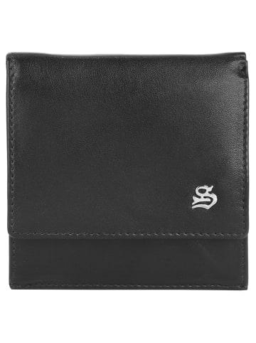 Szuna Mini Geldbörse in schwarz