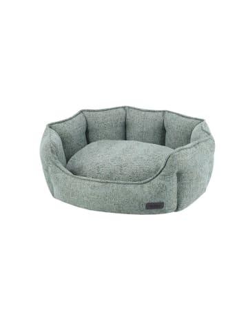 Nobby Hundebett oval Nevis 86x70x24 cm, grüngrau