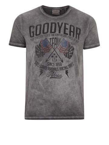 GOODYEAR T-Shirt FERNALD in Vintage Grey