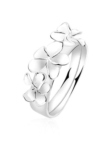 Nenalina Ring 925 Sterling Silber Blume in Silber