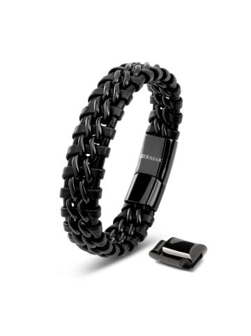 """SERASAR Armband """"Steel"""" in Schwarz"""