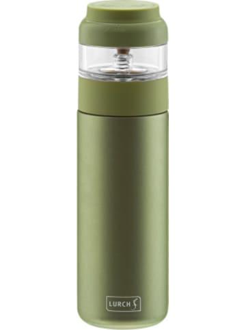 Lurch Edelstahl Isolierflasche & Teezubereiter, 400ml