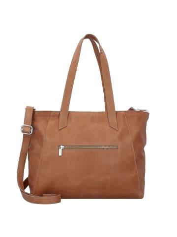 Cowboysbag Jenner Shopper Tasche Leder 36 cm in camel