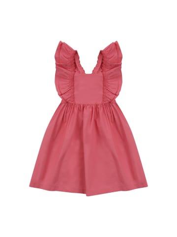 Panco Kleider - mit Rüschen - für Mädchen in Fuchsia