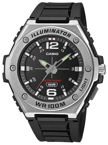 Casio Collection Herrenuhr Schwarz
