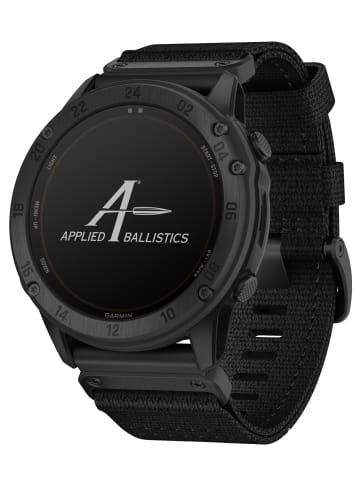 Garmin Tactix Delta Solar Smartwatch Ballistic Edition Schwarz