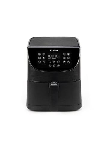 Cosori 3,5-Liter Heißluftfritteuse mit Spießregalsatz schwarz