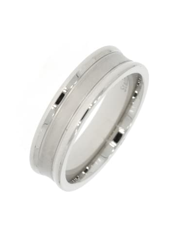 """Gooix Ring """"mattiert / poliert"""" in silber"""