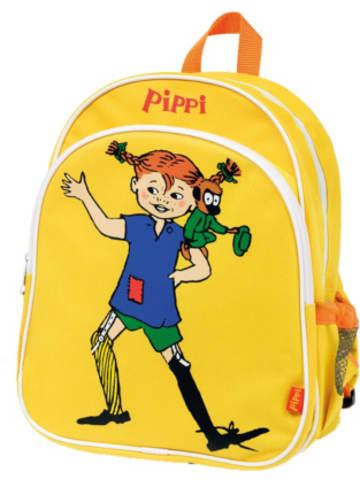 Micki Kinderrucksack Pippi Langstrumpf gelb