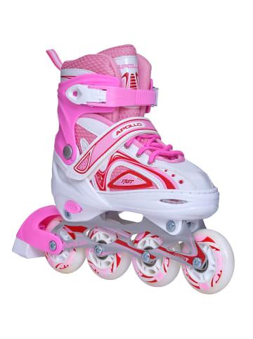 """Apollo Inline Skates """" Super Blades X-Pro """" in weiß/pink"""