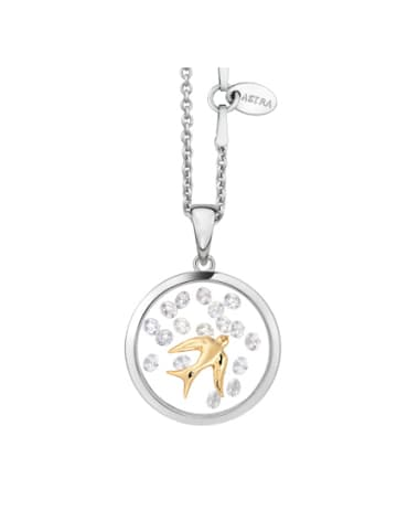 Astra Kette mit Anhänger SWALLOW in yellowgold