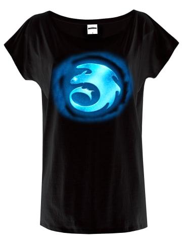 DRAGONS T-Shirt Shining Symbol in schwarz