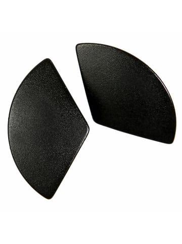 DeMarie Ohrstecker Metall in schwarz