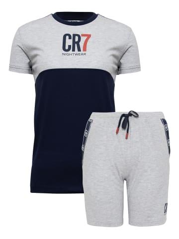 CR7 Shorty Kids in Dunkelblau