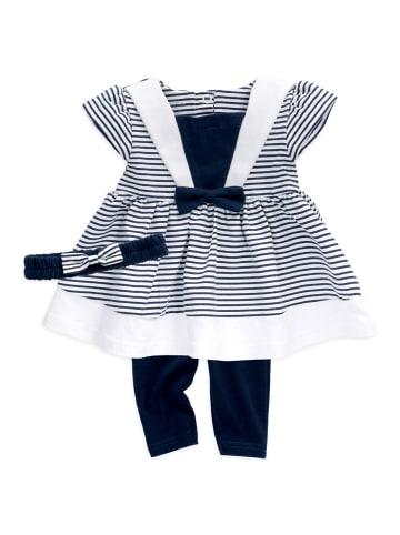 Baby Sweets 3tlg Set Kleid + Hose + Mütze Lieblingsstücke Kleider in bunt