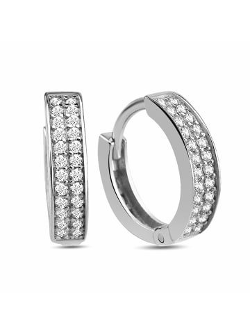 Dkeniz Creolen 925/- Sterling Silber in Silber
