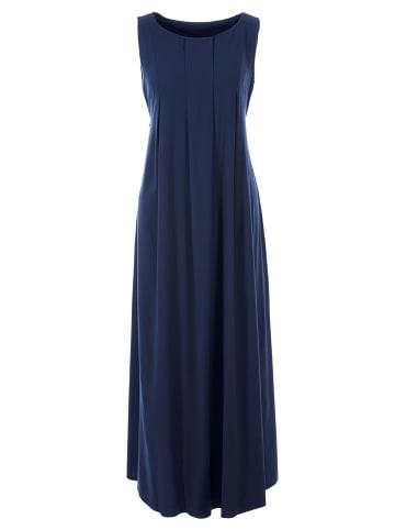 HELMIDGE Sommerkleid ärmellos in blau