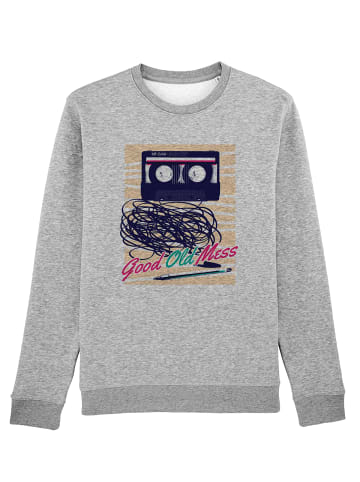 Wat? Apparel Sweatshirt Good Old Mess in Grau meliert