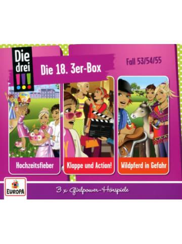 Sony CD Die drei !!! 3er CD-Box 18 (3 CDs, Folgen 53,54,55)
