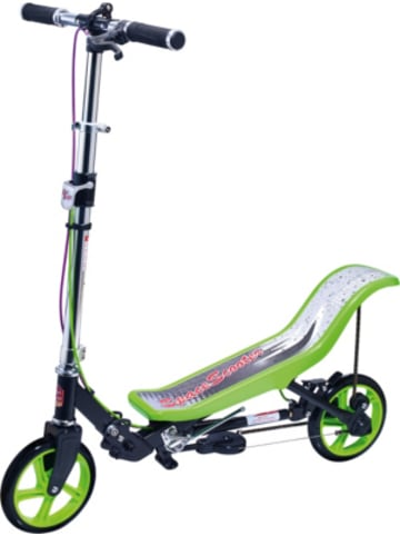 Space Scooter X 590 Deluxe, grün
