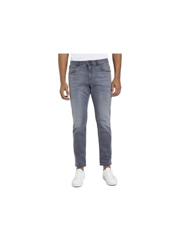 Supremo Straight Leg Jeans in grau