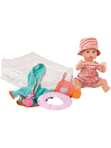 GÖTZ Puppenmanufaktur Int. GmbH Badepuppe Sleepy Aquini Mädchen mit Schlafaugen und Bade-Set, 33 cm