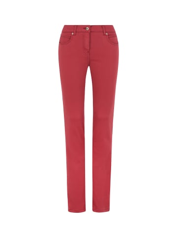Million X - Women Damen Hose Victoria Supersoft Color in red plum