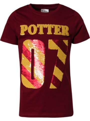 Harry Potter Harry Potter T-Shirt mit Wendepailletten