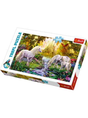 Trefl Puzzle 100 - Geheimer Einhorngarten