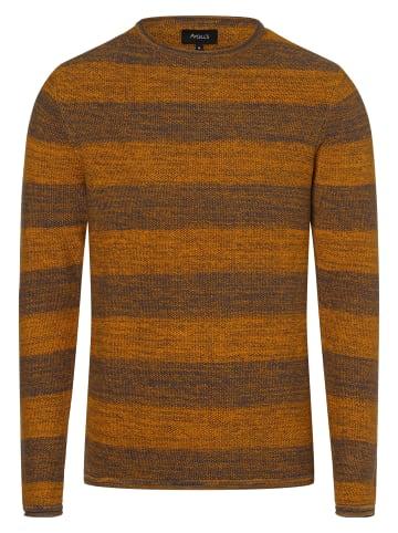 Aygill's Pullover in gelb grau